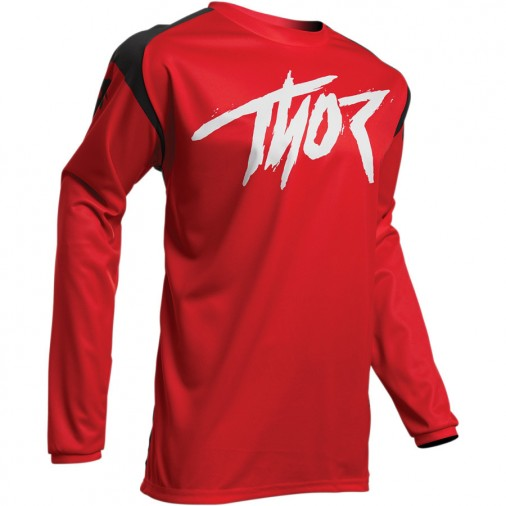 Maillot cross adulte THOR Sector Link - Rouge