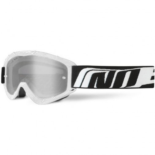 Lunettes / Masque cross NOEND 3.6 Series - Adulte - Blanc
