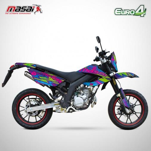 Moto homologuée SM 50 - MASAI - Punky Rider