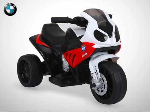 Moto électrique enfant KINGTOYS - BMW S1000 RR 18W - Rouge
