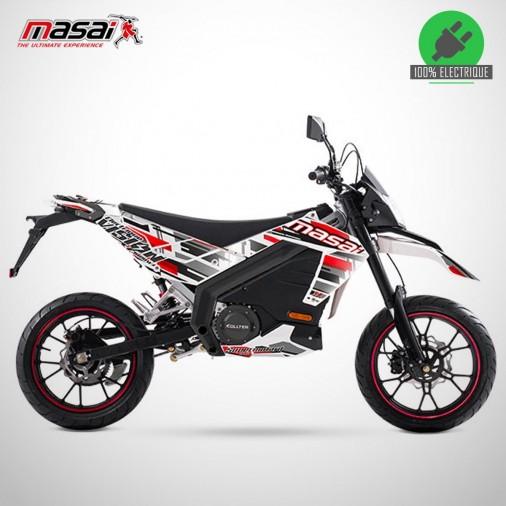 Moto électrique VISION 3K 3000W - MASAI - Blanc