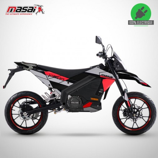 Moto électrique VISION 5K 5000W - MASAI - Noir