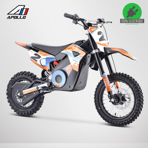 Moto enfant électrique APOLLO RXF ROCKET 1000W - Édition 2021 - Orange