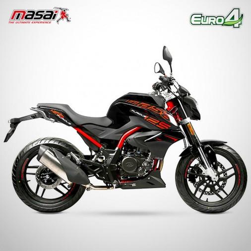 Moto homologuée FURIOUS 125 - MASAI - Rouge