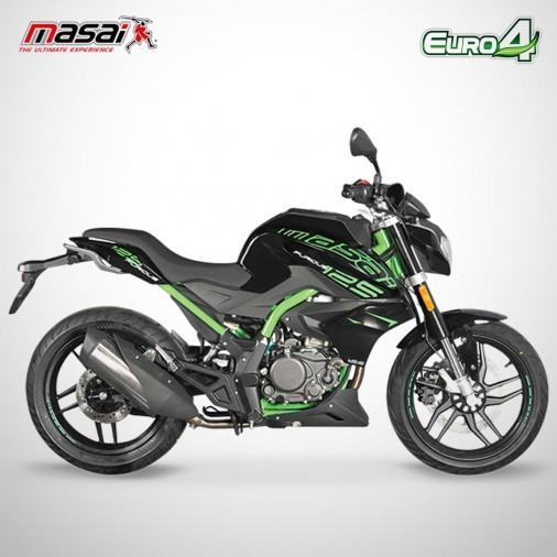 Moto homologuée FURIOUS 125 - MASAI - Vert