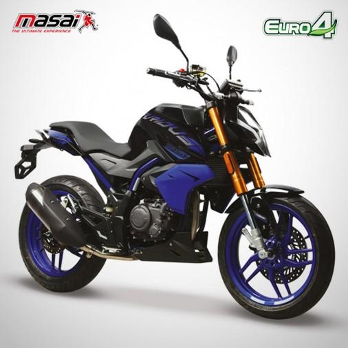 Moto homologuée FURIOUS RACING 125 - MASAI - Noir / Bleu