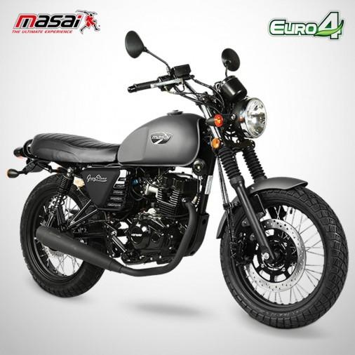 Moto homologuée GREYSTONE 125 - MASAI - Gris