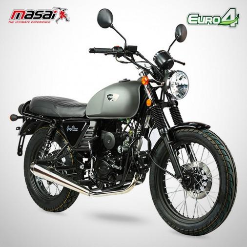 Moto homologuée GREYSTONE 50 - MASAI - Gris