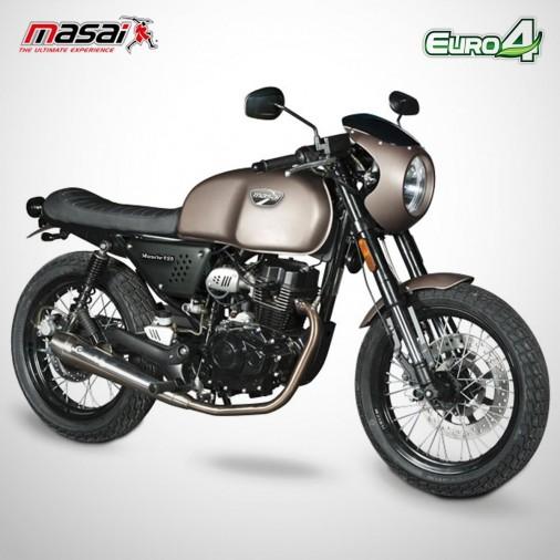 Moto homologuée MUSCLE 125 - MASAI - Titane