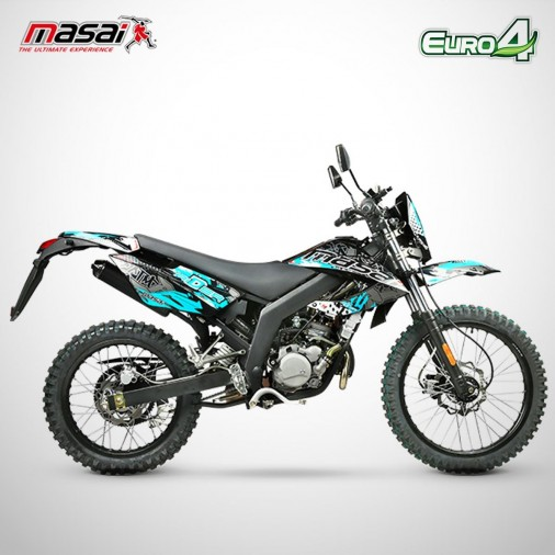 Moto homologuée RIDER 50 - MASAI - Noir
