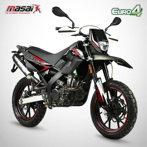 Moto homologuée X-RAY 125 - MASAI - Noir