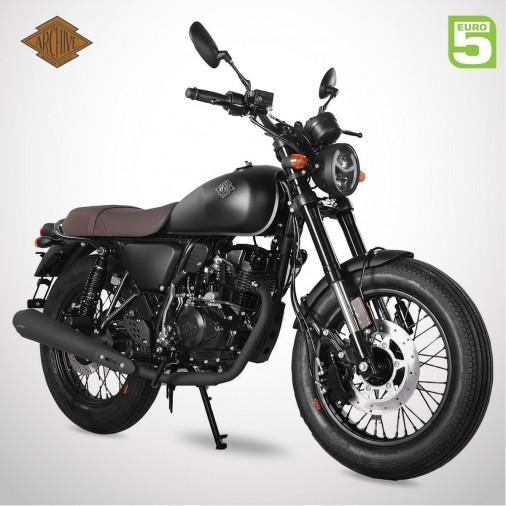 Moto homologuée SCRAMBLER 125 SP E5 - ARCHIVE - Noir Mat