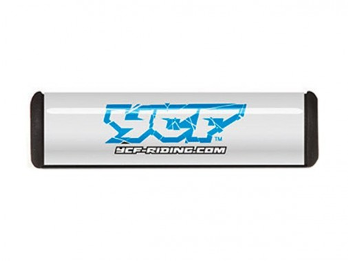 Mousse de guidon - 250mm - YCF - Blanc