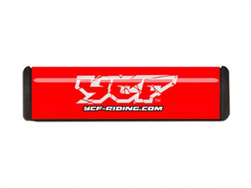 Mousse de guidon - 250mm - YCF - Rouge