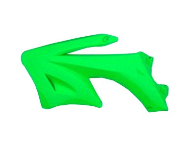 Plastique - AGB27 - Ouie gauche - Vert