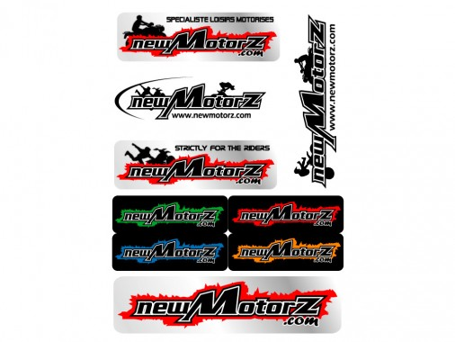 Planche stickers - NEW MOTORZ