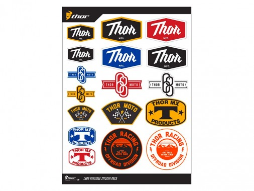 Planche stickers - THOR HERITAGE