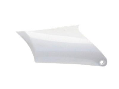 Plastique - AGB27 - Plaque arrière droit - Blanc