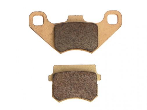 Plaquettes de frein avant - Modèle 1 - Semi-metal