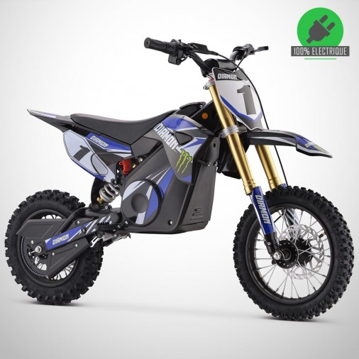 Moto enfant électrique ORION 1300W - 12/10 - Édition 2021 - Bleu