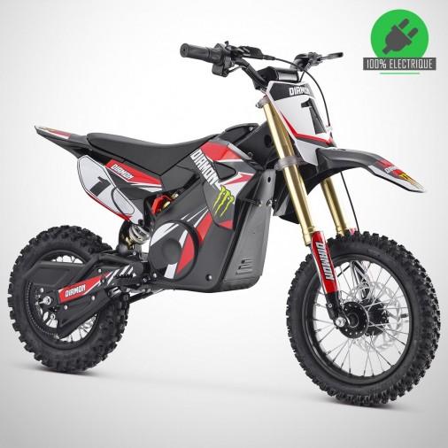 Moto enfant électrique ORION 1300W - 12/10 - Édition 2021 - Rouge