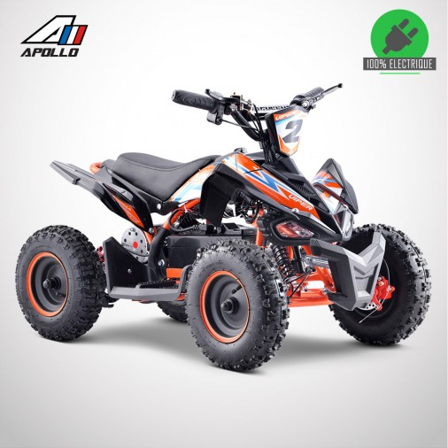 Pocket quad électrique APOLLO VIPER 800W - Édition 2021 - Orange