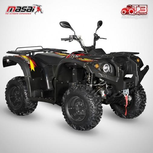 Quad homologué A500 IX - MASAI - Noir