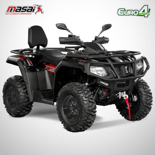 Quad homologué A550 IX - MASAI - Noir