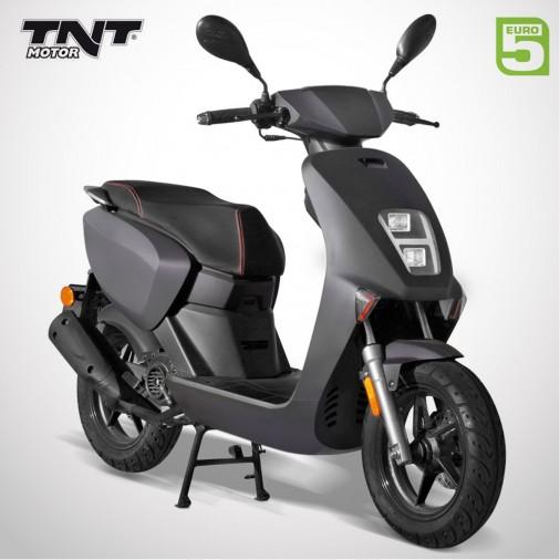 Scooter 50cc HALO - 4 Temps - TNT MOTOR - Noir Mat