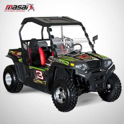 SSV X300 - MASAI - Noir