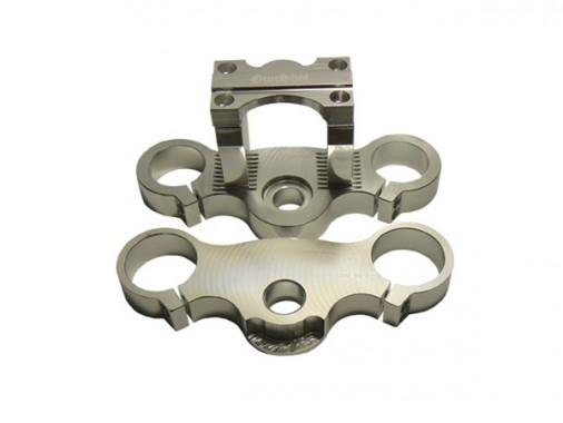 Tés + Pontets - 42/48mm - Silver - Réglable