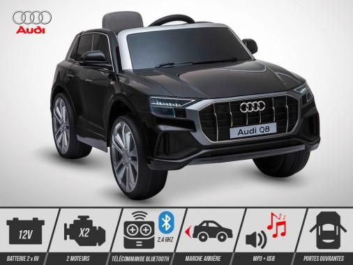 Voiture électrique enfant KINGTOYS - Audi Q8 50W - Noir
