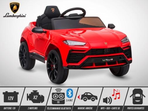 Voiture électrique enfant KINGTOYS - Lamborghini Urus 70W - Rouge
