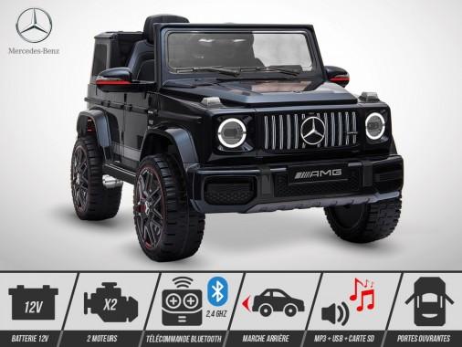 Voiture électrique enfant KINGTOYS - Mercedes G 63 AMG 50W - Noir