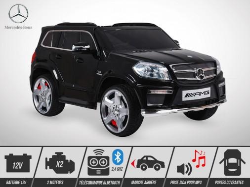 Voiture électrique enfant KINGTOYS - Mercedes GL 63 AMG 70W - Noir