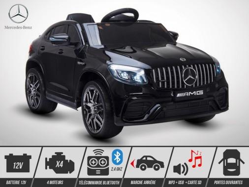 Voiture électrique enfant KINGTOYS - Mercedes GLC 63 S AMG 100W - Noir