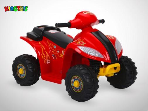 Quad électrique enfant KINGTOYS - Varox 20W - Rouge