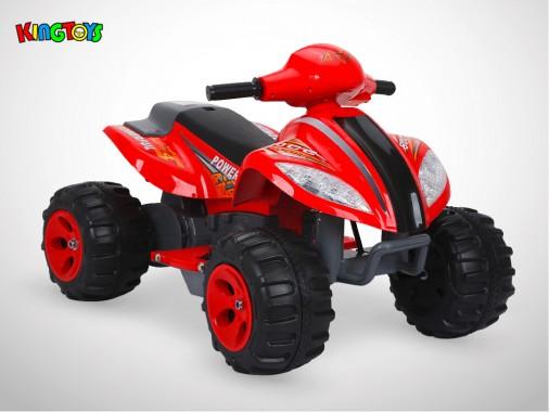 Quad électrique enfant KINGTOYS - Varox 35W - Rouge