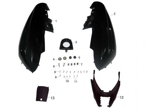 FIG. 15 - Carénage arrière