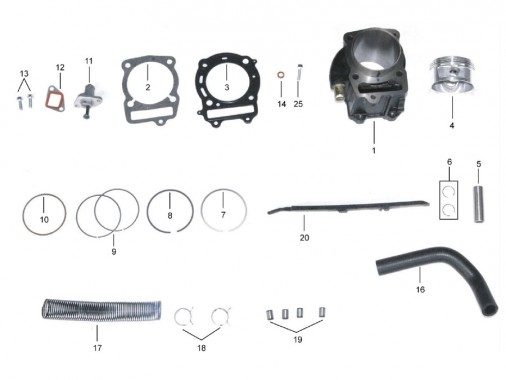 FIG. 03 - Cylindre