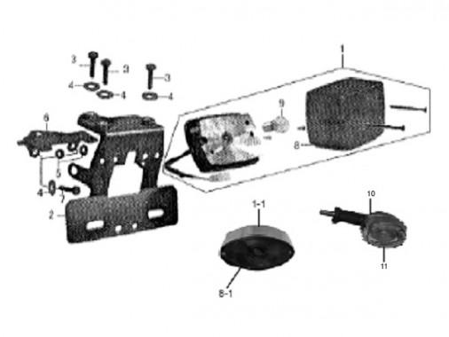 FIG. 05 - Feux arrière