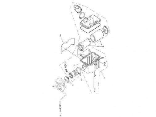 FIG. 22 - Filtre à air