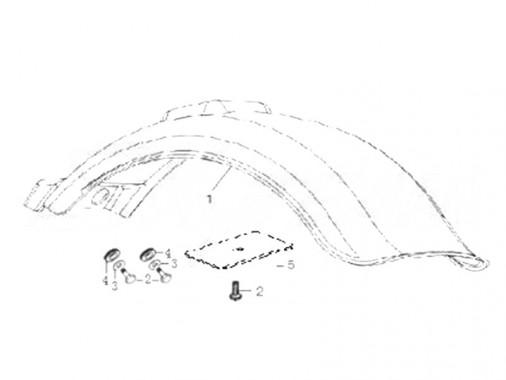 FIG. 22 - Garde-boue arrière