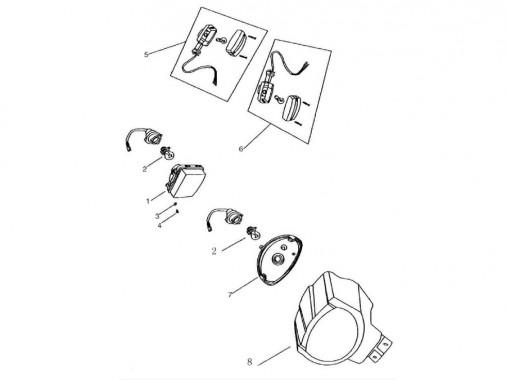 FIG. 31 - Optique - Clignotants