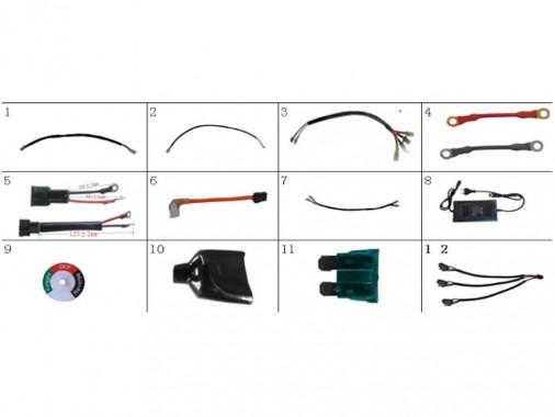 FIG. 10 / Faisceaux électriques