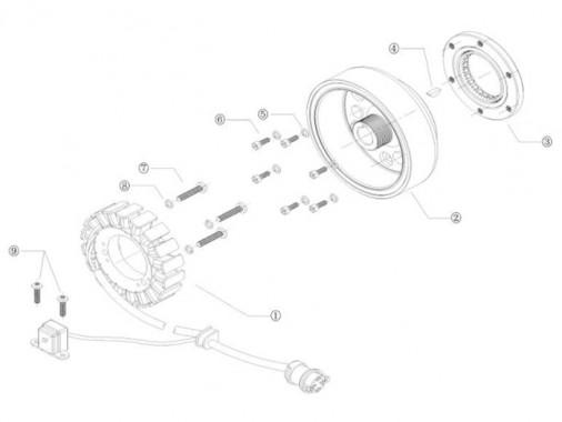 FIG. 23 - Rotor - Stator