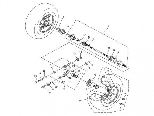 FIG. 31 - Transmission arrière