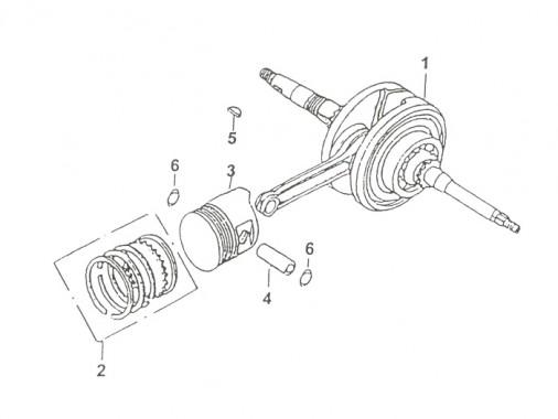 FIG. 13 - Vilebrequin - Piston