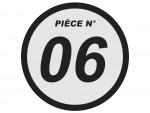 Triangle de direction - Supérieur - Orange