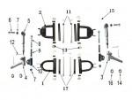 N°2 - Triangle de direction - Inférieur - Noir